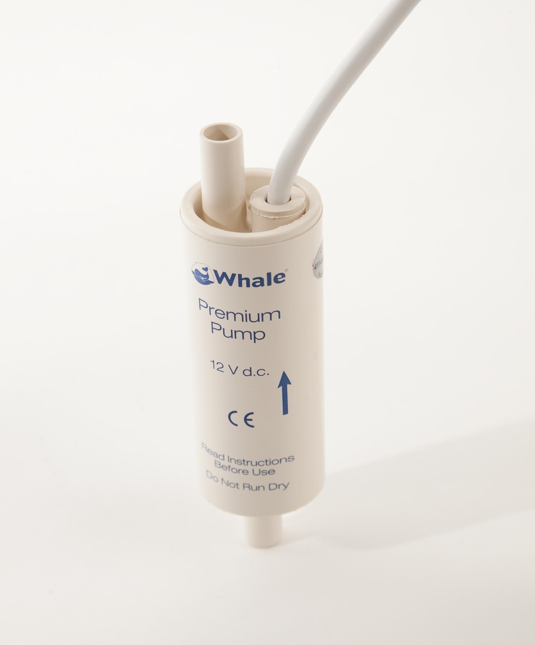 whale premium pump instructions