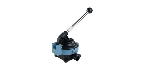 Whale Gusher Titan Manual Bilge Pump On Deck Mount BP4402
