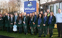 Bloomfield Students Visit Whale