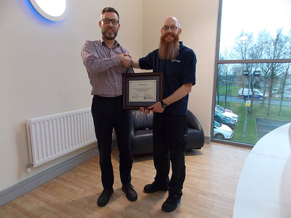 Whale Employee Receives Black Belt in LSS Image