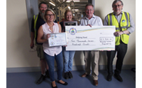 Whale Receives Safety Award